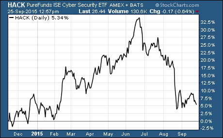 Volatile Cyber Security Stocks
